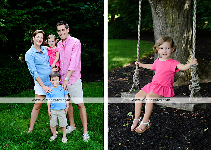 central pa portrait photographer bench kids kiss swing family md 2