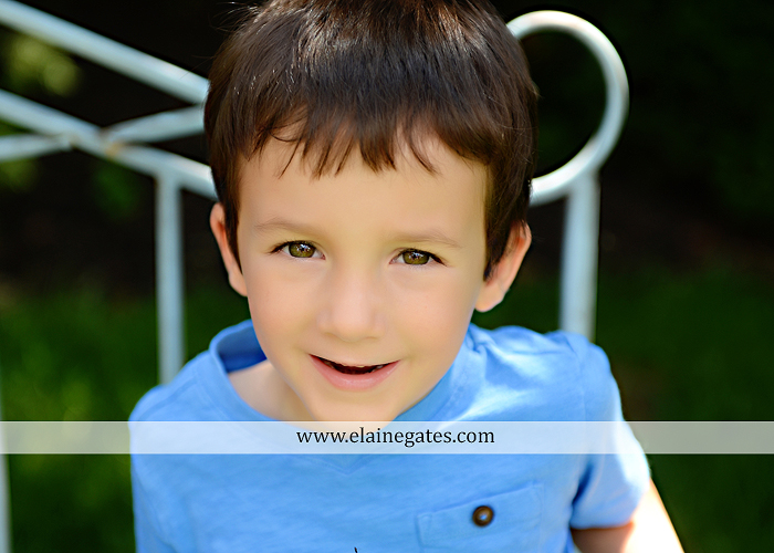 central pa portrait photographer bench kids kiss swing family md 4