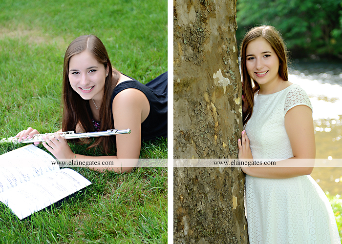 central pa senior portrait photographer bench tree flute music stream creek art sketch wildflowers stone stairs horse stable barn hw 2