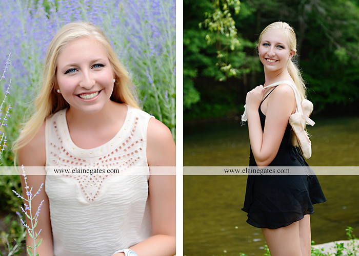 central pa senior portrait photographer brick wall swing wildflowers ballet stream creek fence hammock hf 2