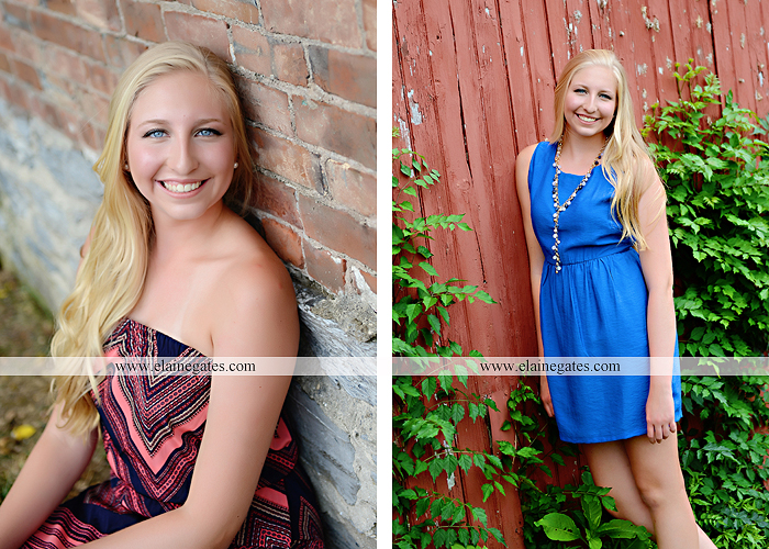 central pa senior portrait photographer brick wall swing wildflowers ballet stream creek fence hammock hf 7