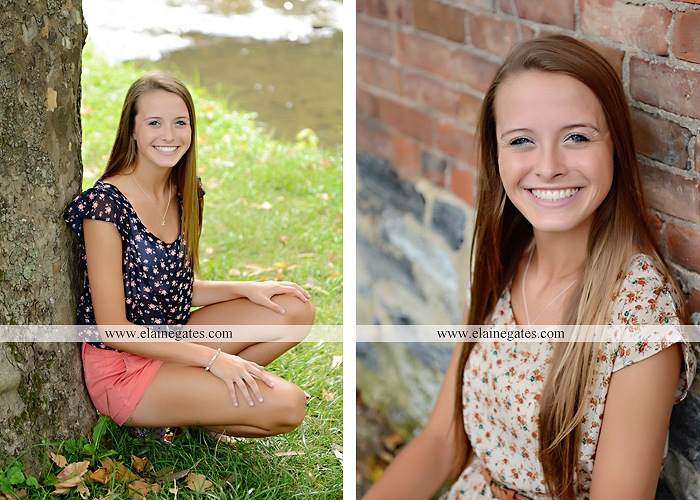 central pa senior portrait photographer hammock brick wall tree road stream creek wildflowers grass jh 6