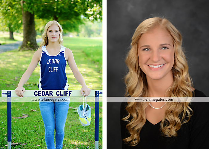 central pa senior portrait photographer hammock wildflowers brick stone wall road tree field water stream creek rock track hurdles formal music piano keys kf 10