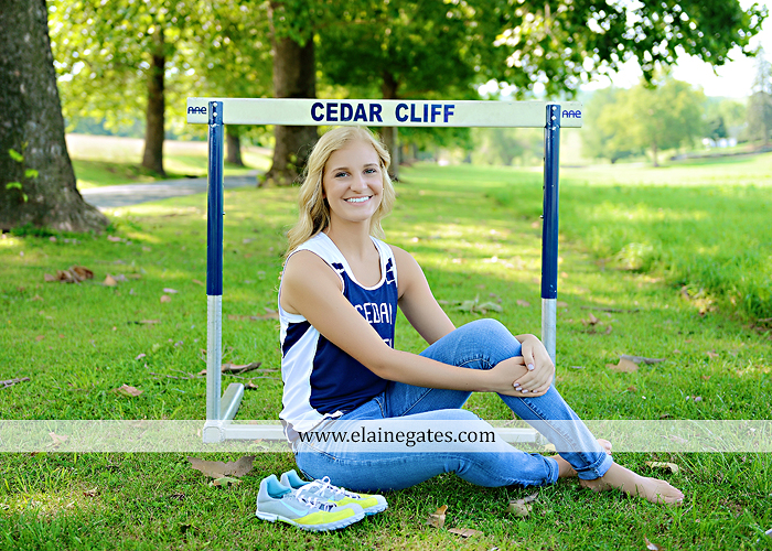 central pa senior portrait photographer hammock wildflowers brick stone wall road tree field water stream creek rock track hurdles formal music piano keys kf 9