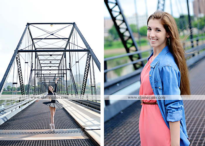 central pa senior portrait photographer harrisburg susquehanna bridge river urban brick shadow doorway ballet barn grass hm 1