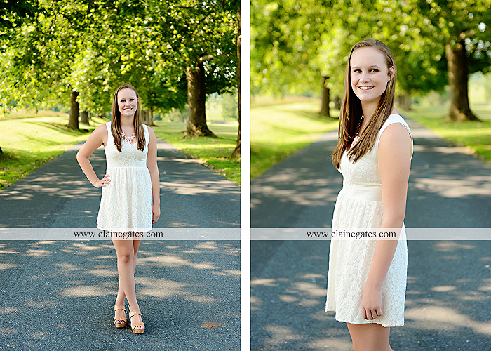 central pa senior portrait photographer road trees girls sisters friends sunflowers grass wildflowers tree water stream creek volleyball formal mc 1