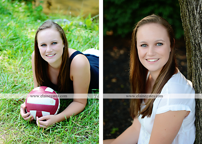 central pa senior portrait photographer road trees girls sisters friends sunflowers grass wildflowers tree water stream creek volleyball formal mc 8