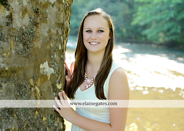 central pa senior portrait photographer road trees girls sisters friends sunflowers grass wildflowers tree water stream creek volleyball formal mc 9