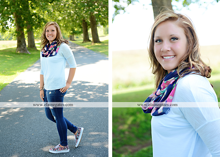 central pa senior portrait photographer stream creek tree fence path road bench hammock hc 4