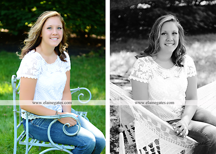 central pa senior portrait photographer stream creek tree fence path road bench hammock hc 6