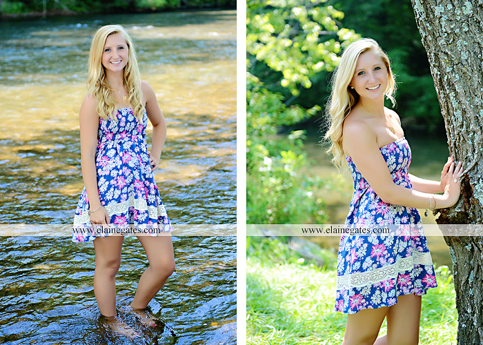 central pa senior portrait photographer stream creek tree road hammock fence bench swing mf 1