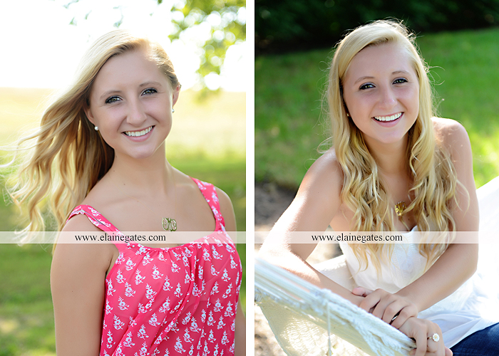 central pa senior portrait photographer stream creek tree road hammock fence bench swing mf 4