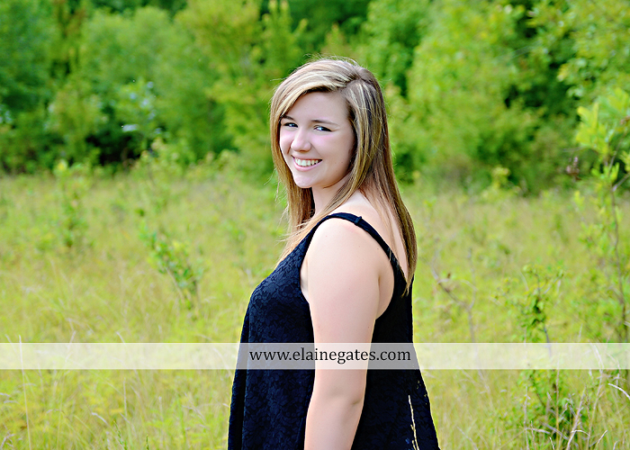 central pa senior portrait photographer wildflowers stream creek rock field bridge water mc 2