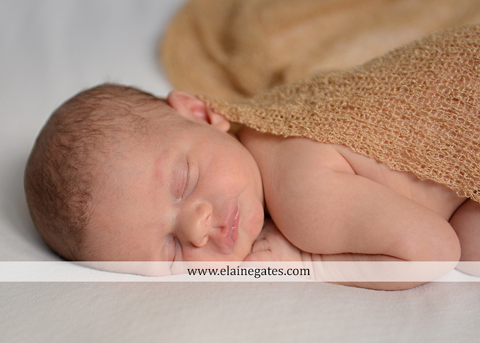 Mechanicsburg Central PA newborn kid child portrait photographer sleeping hat leaves fall grass blanket nk 1