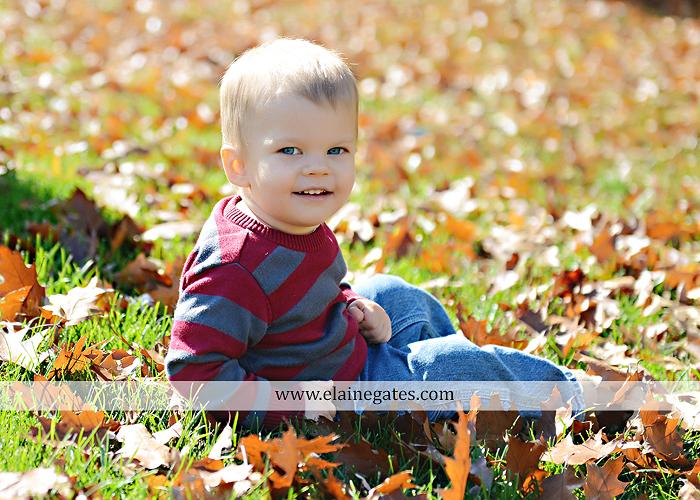 Mechanicsburg Central PA newborn kid child portrait photographer sleeping hat leaves fall grass blanket nk 2