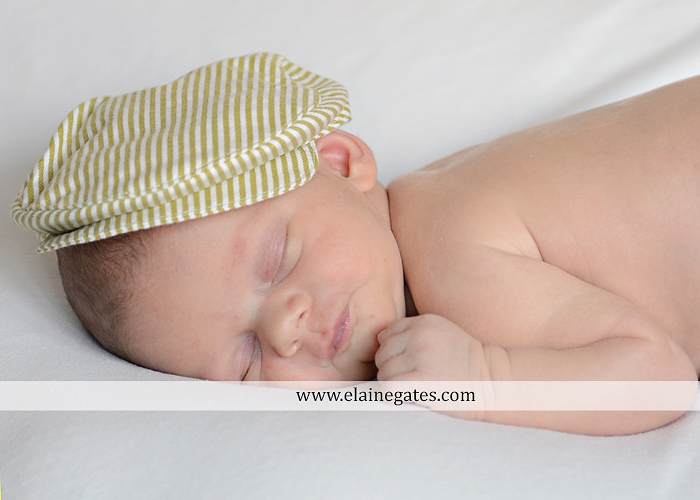 Mechanicsburg Central PA newborn kid child portrait photographer sleeping hat leaves fall grass blanket nk 3