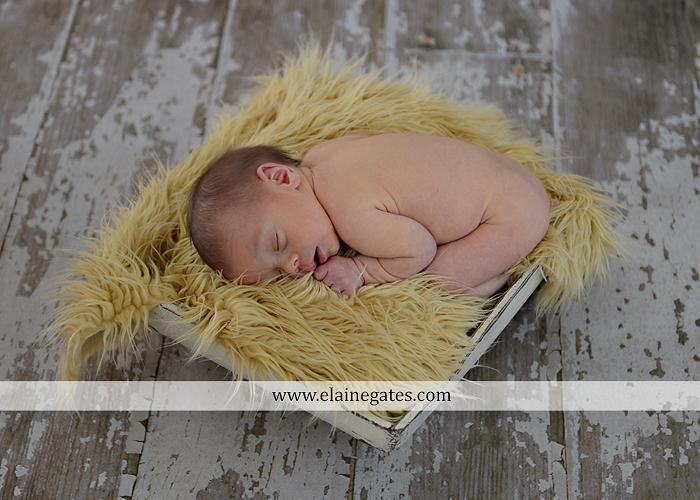 Mechanicsburg Central PA newborn portrait photographer baby sleeping hat football mother child anchor fur blanket hardwood floor vl 4