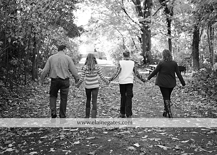 Mechanicsburg Central PA portrait photographer family woods road leaves holding hands brother sister husband wife hug couple rock jw 1