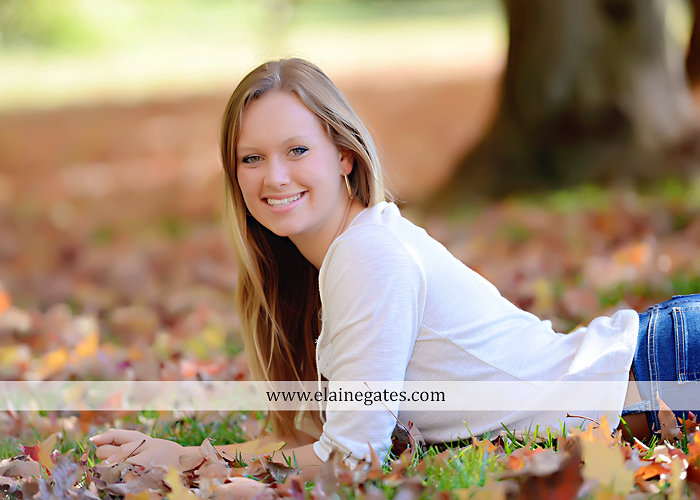 Mechanicsburg Central PA senior portrait photographer outdoor grass field leaves fall stone rock wall ivy fence mm 3