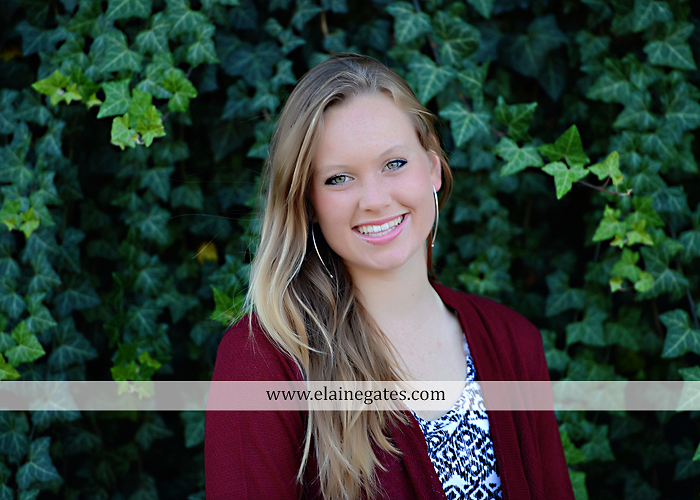 Mechanicsburg Central PA senior portrait photographer outdoor grass field leaves fall stone rock wall ivy fence mm 5