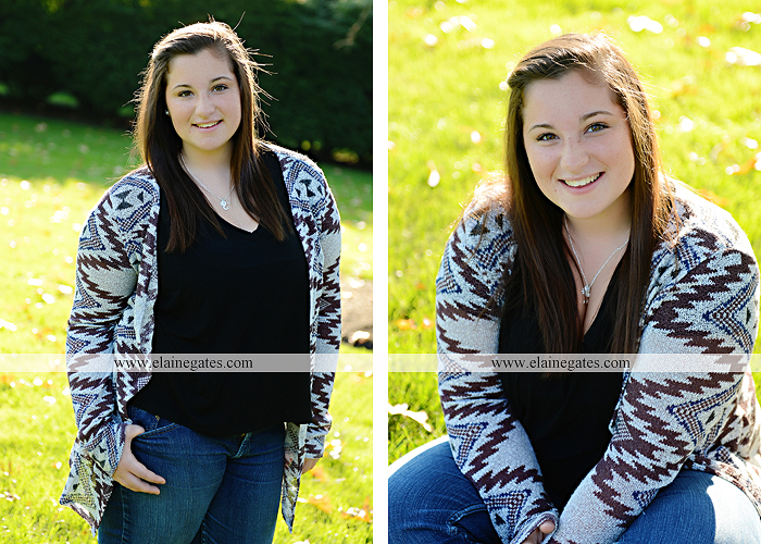 Mechanicsburg Central PA senior portrait photographer outdoor grass field sk 1