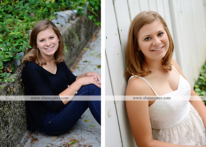 central pa senior portrait photographer tree hammock swing stone wall fence ivy wildflowers sr 3