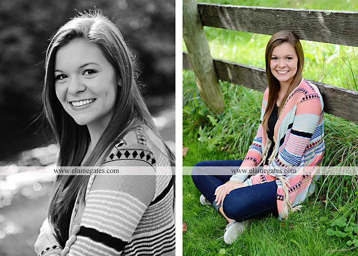 central pa senior portrait photographer tree wildflowers road brick stone wall swing water stream creek fence grass field lf 8