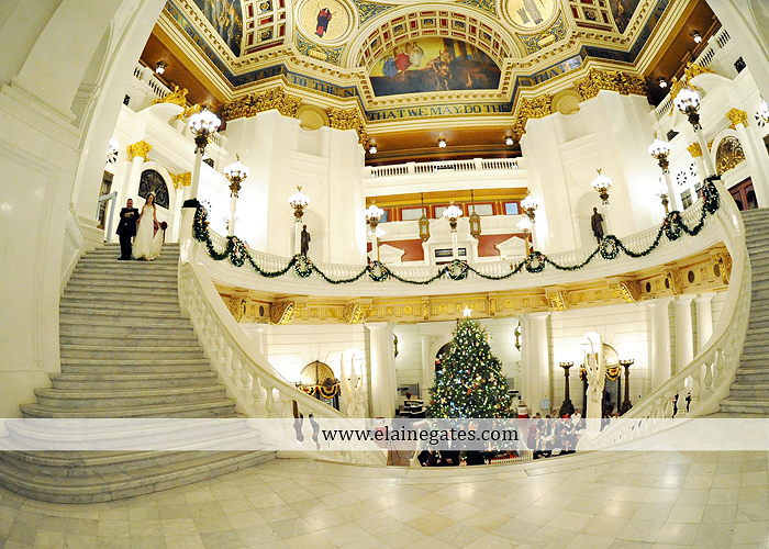 Capitol Rotunda Wedding Photographer Harrisburg red Sir D's Catering Camp Hill Bakery Wedding Paper Divas David's Bridal Men's Warehouse December 13