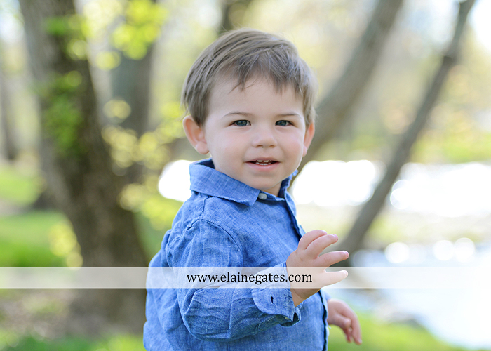 Mechanicsburg Central PA portrait photographer boy son trees water creek stream trees grass field dog maternity family father mother sf 1