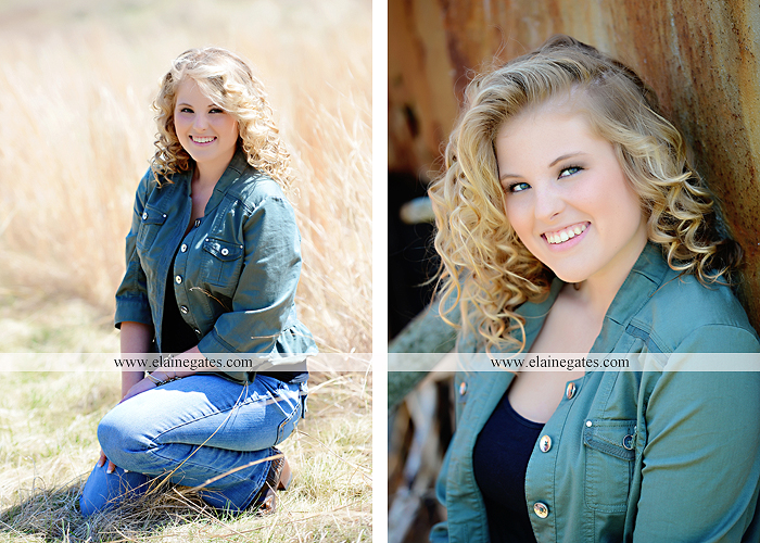 Mechanicsburg Central PA senior portrait photographer outdoor brick wall urban grass field stone wood barn fence city ep 4
