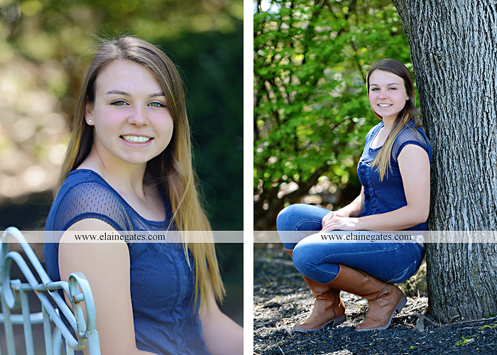 Mechanicsburg Central PA senior portrait photographer outdoor hammock bench field grass softball uniform jersey bat ball glove tree cs 6