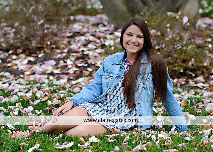Mechanicsburg Central PA senior portrait photographer outdoor trees grass field covered bridge road fence messiah college hammock ji 7