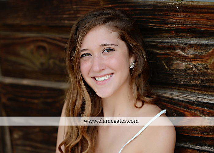 Mechanicsburg Central PA senior portrait photographer outdoor girl female field trees wood wall rustic barn door formal jeep wrangler grass wildflowers hammock swing mz 03
