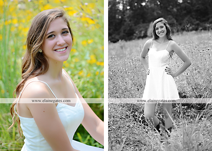 Mechanicsburg Central PA senior portrait photographer outdoor girl female field trees wood wall rustic barn door formal jeep wrangler grass wildflowers hammock swing mz 08