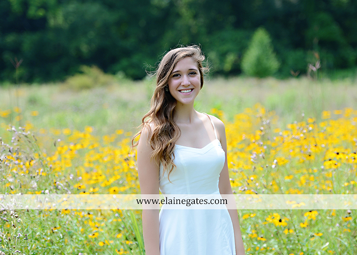 Mechanicsburg Central PA senior portrait photographer outdoor girl female field trees wood wall rustic barn door formal jeep wrangler grass wildflowers hammock swing mz 09