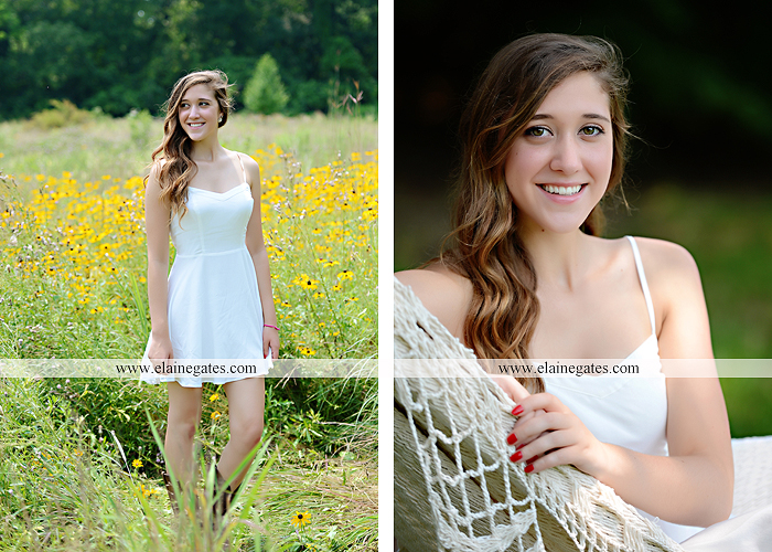 Mechanicsburg Central PA senior portrait photographer outdoor girl female field trees wood wall rustic barn door formal jeep wrangler grass wildflowers hammock swing mz 10