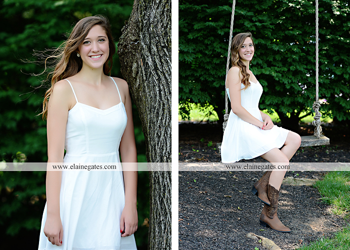 Mechanicsburg Central PA senior portrait photographer outdoor girl female field trees wood wall rustic barn door formal jeep wrangler grass wildflowers hammock swing mz 11