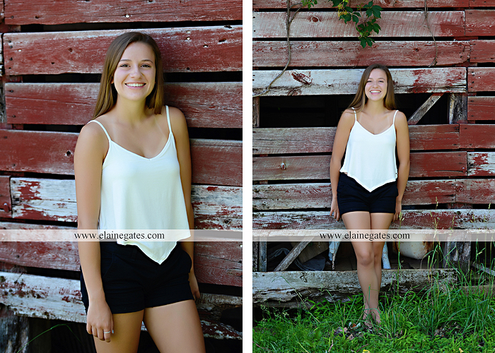 Mechanicsburg Central PA senior portrait photographer outdoor girl female grass field stone wall wood barn rustic rf 06