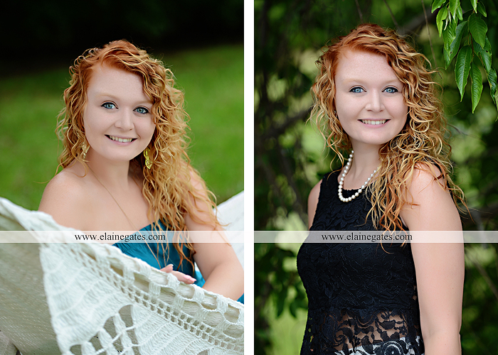Mechanicsburg Central PA senior portrait photographer outdoor girl female hammock tree grass leaves stone wall wood wall rustic barn door field wildflowers road lb 01