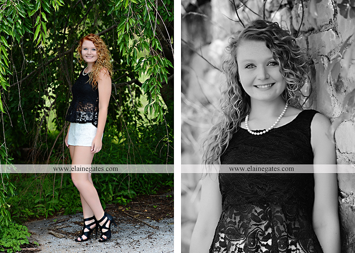 Mechanicsburg Central PA senior portrait photographer outdoor girl female hammock tree grass leaves stone wall wood wall rustic barn door field wildflowers road lb 02