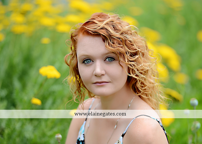 Mechanicsburg Central PA senior portrait photographer outdoor girl female hammock tree grass leaves stone wall wood wall rustic barn door field wildflowers road lb 08