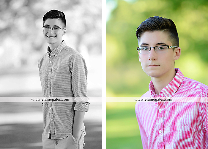 Mechanicsburg Central PA senior portrait photographer outdoor guy male formal fence field trees grass mother mom en 04