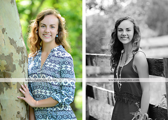 Mechanicsburg Central PA senior portrait photographer outdoor tree water stream creek fence road sidewalk brick stone wall grass wildflowers field hammock chair ab 02