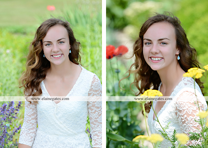 Mechanicsburg Central PA senior portrait photographer outdoor tree water stream creek fence road sidewalk brick stone wall grass wildflowers field hammock chair ab 05