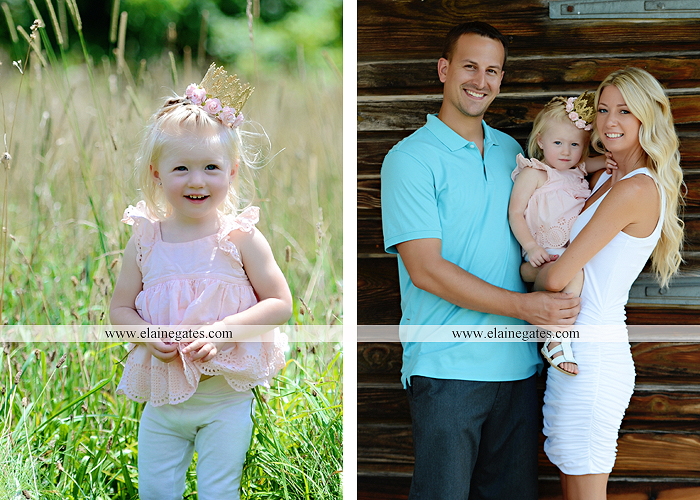 Mechanicsburg Central PA family portrait photographer girl daughter field mother father wooden wall barn trees grass bench jc 01