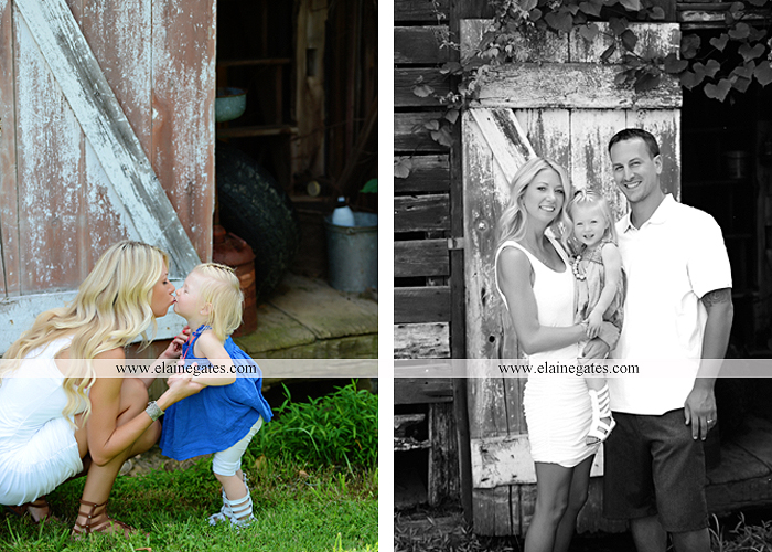 Mechanicsburg Central PA family portrait photographer girl daughter field mother father wooden wall barn trees grass bench jc 04