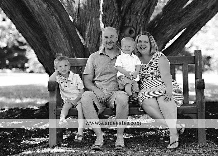 Mechanicsburg Central PA family portrait photographer outdoor mother father sons boys grass flowers steps chair bridge trees bench brick path jr 07