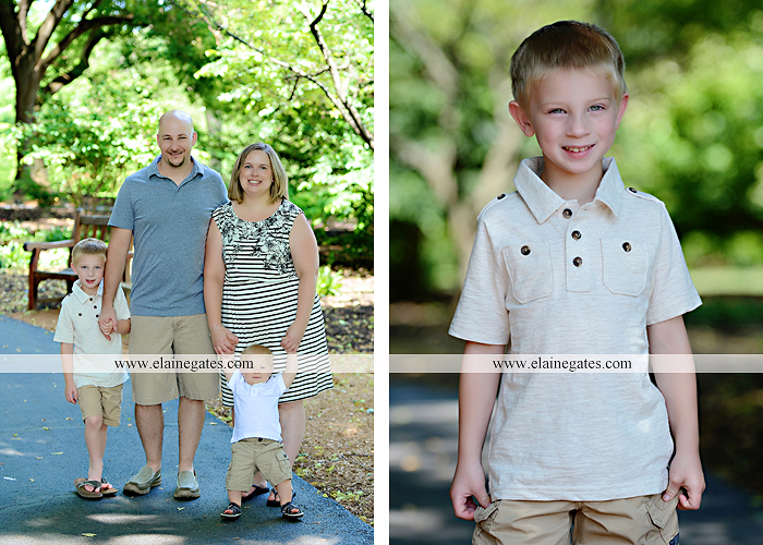 Mechanicsburg Central PA family portrait photographer outdoor mother father sons boys grass flowers steps chair bridge trees bench brick path jr 10
