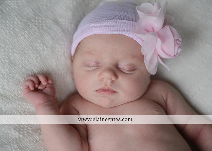 Mechanicsburg Central PA newborn portrait photographer girl outdoor sleeping hat bow blanket basket wooden floor pink white tutu mother father parents grass trees 01