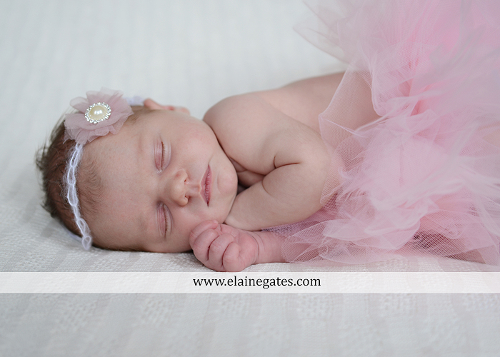 Mechanicsburg Central PA newborn portrait photographer girl outdoor sleeping hat bow blanket basket wooden floor pink white tutu mother father parents grass trees 13